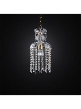 Classic crystal chandelier 1 light BGA 2708
