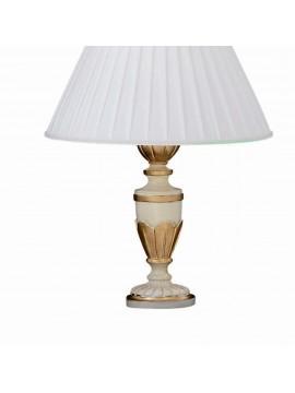 Lume grande 1 luce classico in legno foglia oro Firenze big