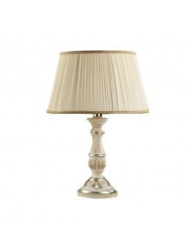 Lume large classic wood white silver-leaf 1 light Esse 705 / bg