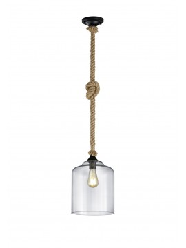 Vintage chandelier with 1 light trio 302900102 Judith