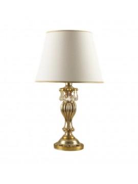 Lume grande classico in legno foglia argento-oro 1 luce Esse 735/bg