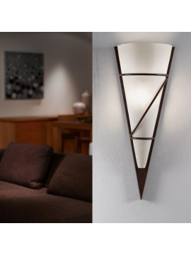 Contemporary wall light 1 light GLO 87793 Pascal 1