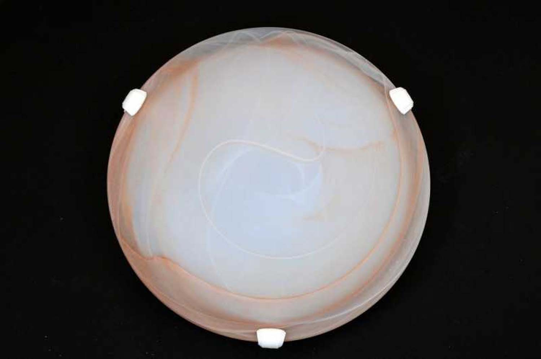 Plafoniera Fiori Vetro : Plafoniera classica in vetro luce d duna ambra