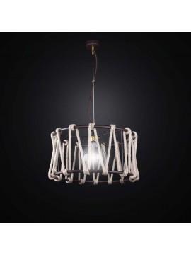 Ethnic vintage chandelier with rope 1 light BGA 2572 / S40
