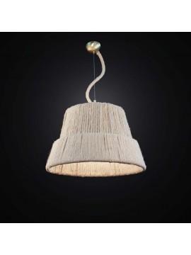 Ethnic vintage chandelier with rope 1 light BGA 2560 / S40