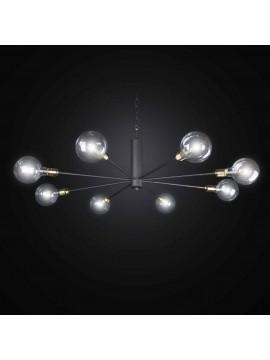 Vintage wrought iron chandelier 8 lights BGA 2775-8