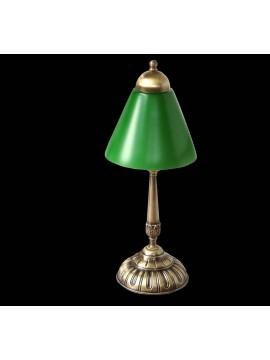 Lampada presidenziale ottone e vetro 1 luce BGA 1300