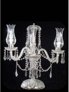 Large lumen in swarovsky design crystal 3 lights BGA 968