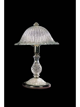 Large lamp in grit crystal 1 light BGA 1026