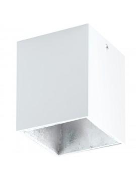 Modern white and silver LED spotlight GLO 94499 Polasso