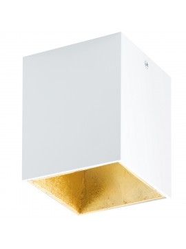 Modern white and gold LED spotlight GLO 94498 Polasso