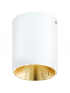 Modern white and gold LED spotlight GLO 94503 Polasso
