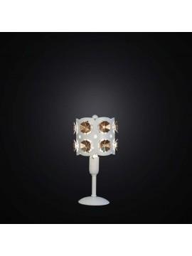 Lumetto taglio laser bianco e foglia oro 1 luce BGA 2548/LP