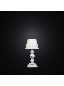 Lumetto ferro battuto e ceramica 1 luce BGA 2490-LP