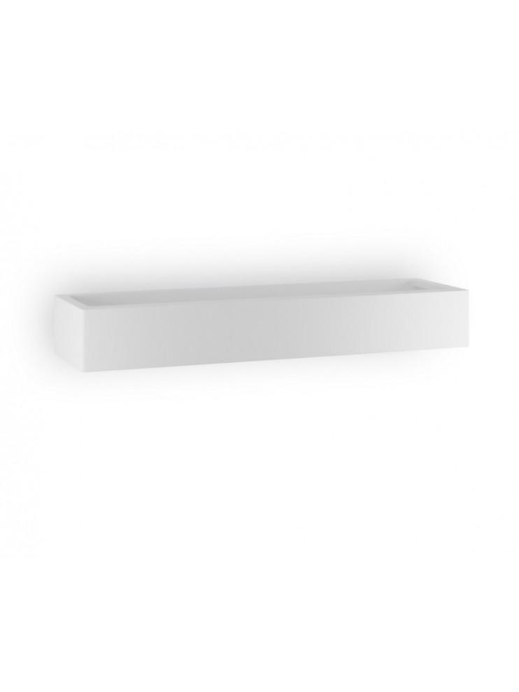 Applique moderno in ceramica bianco a 1 luce coll. 8430.108