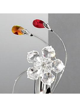 Modern colored crystal glass light 1 light Marg-l