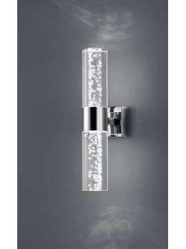 Applique a led 6,4w con diffusore a bolle trio 282410206 Bolsa