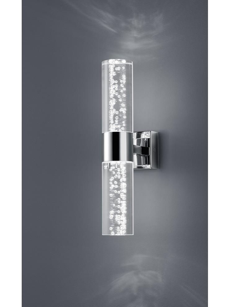 6,4w LED wall light with bubble diffuser trio 282410206 Bolsa
