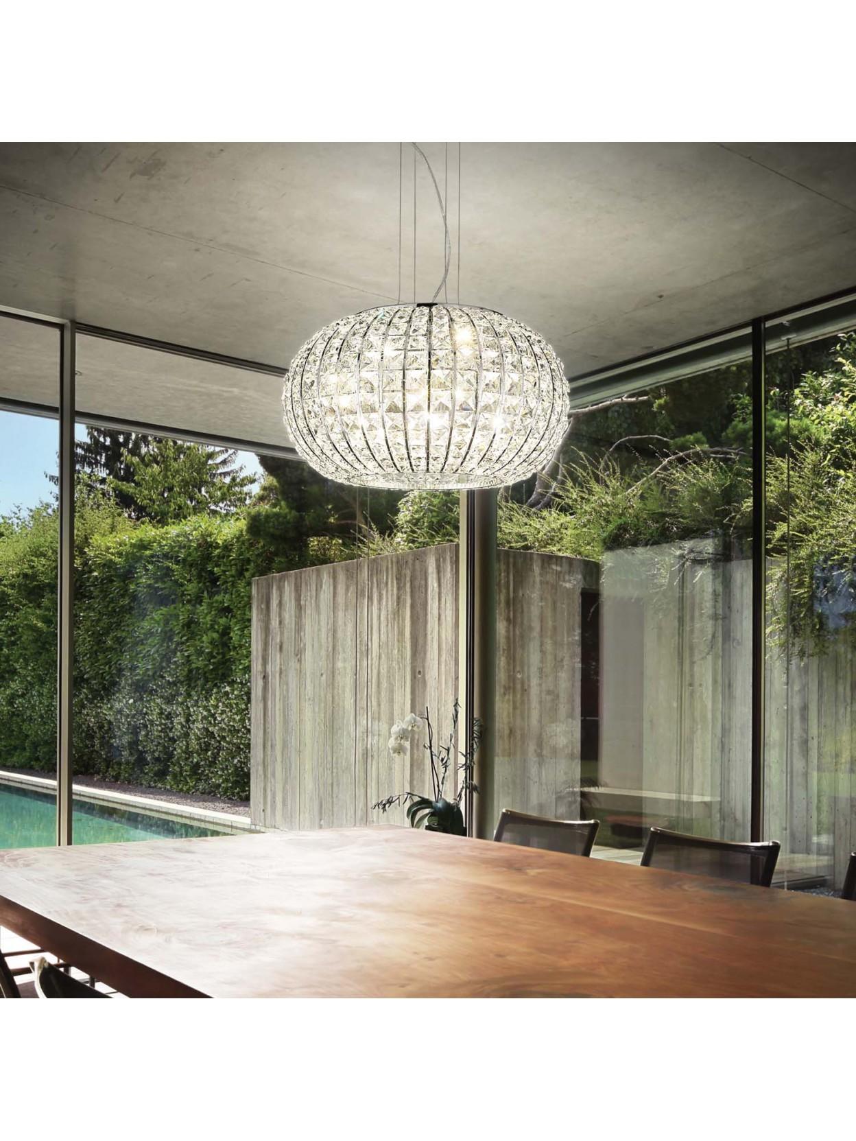 Lampadario Moderno Con Cristalli Kidal Cattelan : Lampadario cristallo moderno lampadari in