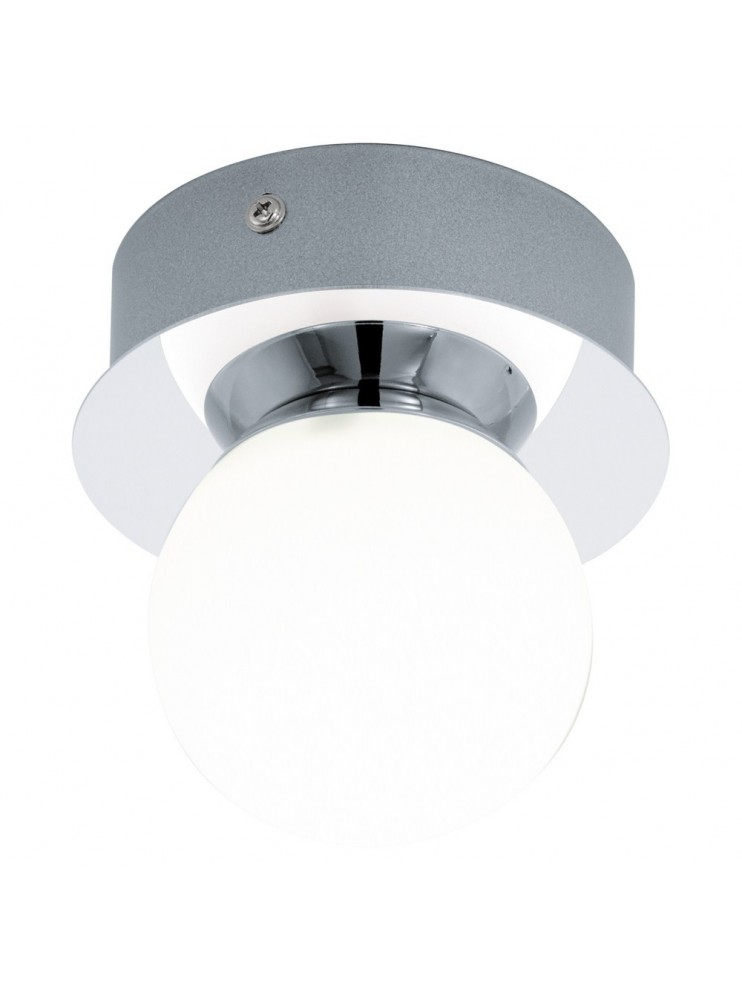 Modern 3.3w LED wall light with glass GLO 94626 Mosiano