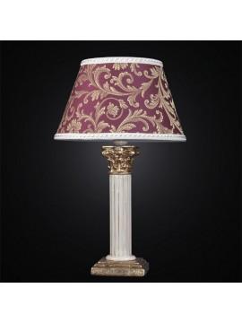 Lume grande ceramica foglia oro 1 luce BGA 2671/LG