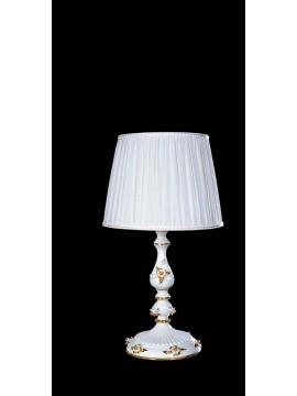 Lume grande in ceramica bianco 1 luce BGA 1042