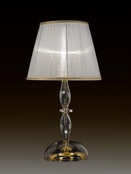 Lume grande cristallo trasparente 1 luce BGA 1660