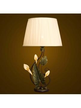 Lume grande ferro battuto 1 luce BGA 1651/LG