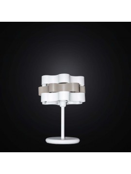 Lume grande bianco e tortora 1 luce BGA 2551/LG