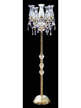Piantana classica cristallo 6 luci BGA 1414