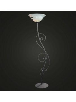 Anthracite wrought iron floor lamp 1 light BGA 811