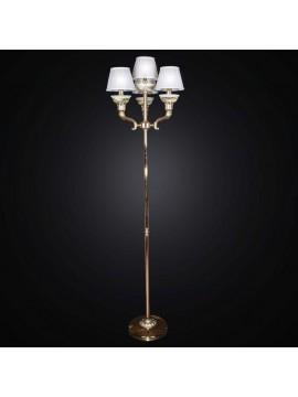 Piantana classica ottone e oro 4 luci BGA 1324