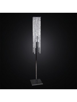 Piantana moderna in cristallo 4 luci BGA 2659/PT
