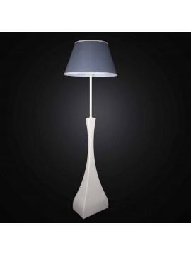 Piantana moderna in ceramica con paralume 1 luce BGA 2756-PT