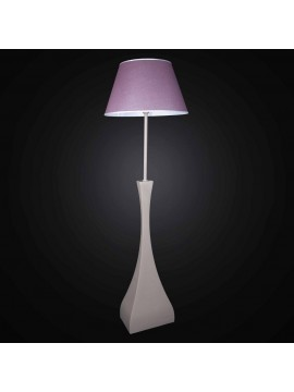 Piantana in ceramica con paralume 1 luce BGA 2756-PT