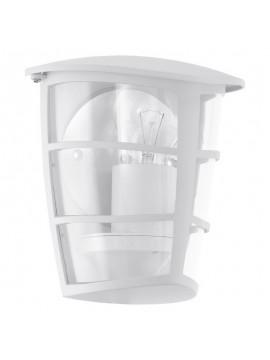 Applique da esterno moderno a 1 luce bianco GLO 93403 Aloria