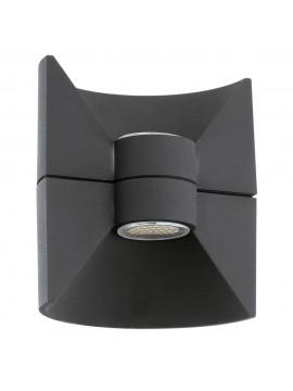Applique da esterno moderno a led antracite GLO 93368 Redondo
