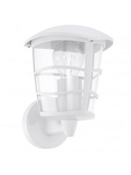 Applique da esterno moderno bianco glo 93094 Aloria