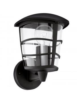 Applique da esterno moderno nero glo 93097 Aloria