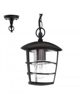 Lampadario per esterno moderno 1 luce nero GLO 93406 Aloria
