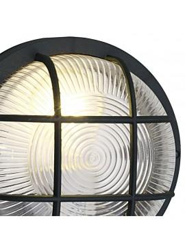 Plafoniera da esterno classica 1 luce nera GLO 88803 Anola