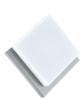 Plafoniera da esterno moderna argento a led GLO 94877 Infesto 1