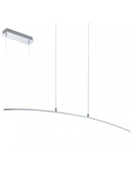 Modern chrome LED chandelier GLO 32048 Lasana
