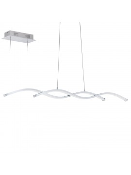 Modern chrome LED chandelier GLO 96103 Lasana 2