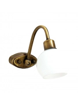 Giusi burnished 1 light contemporary wall light