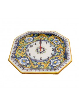 Sicilian ceramic watch art.24 dec.Barocco