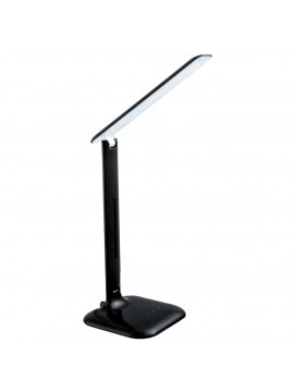 CaO black LED touch lamp GLO 93966