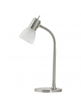 Modern light nickel studio lamp 1 light GLO 86429 Prince 1