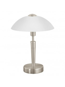 Lume moderno nickel 1 luce GLO 85104 Solo 1