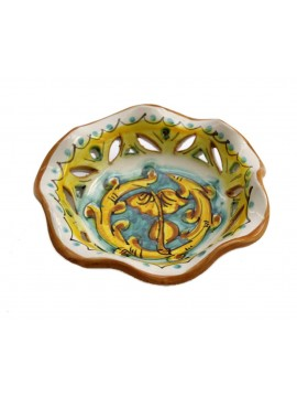 Small Sicilian ceramic bowl art.23 dec. Gianluca